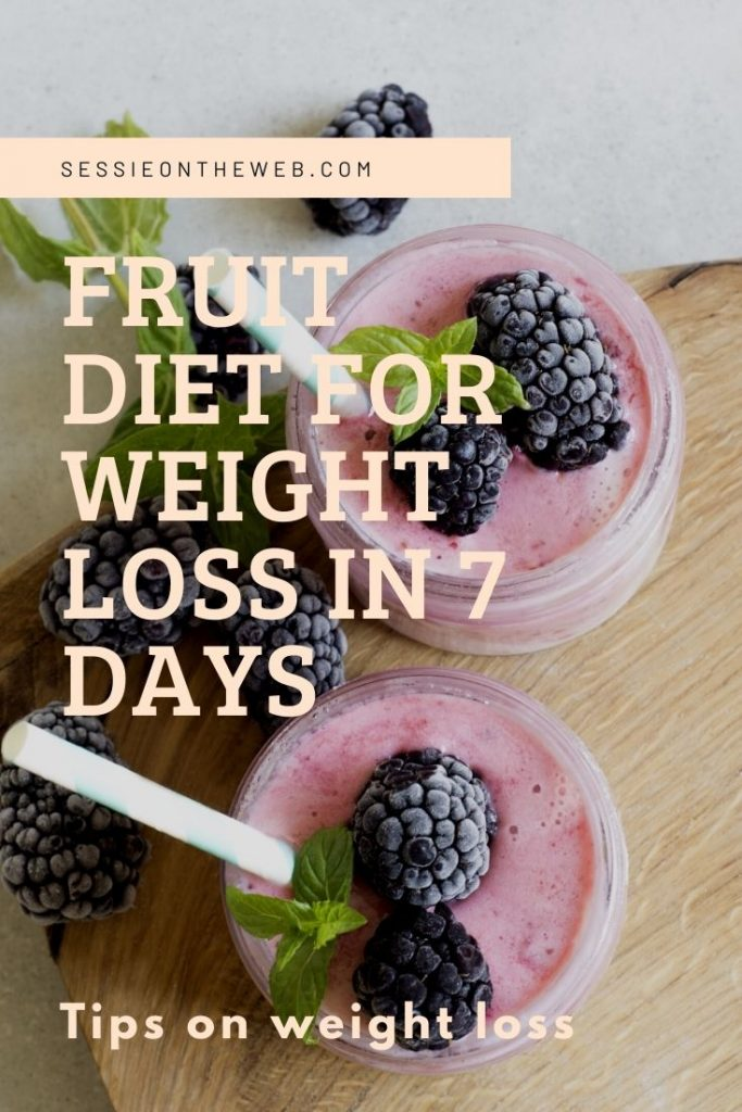 Fruit Diet For Weight Loss In 7 Days